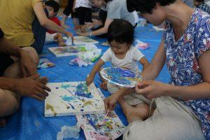 赤ちゃんにしかできないアートの世界 in 福井 | ONDtable(フード&ワークショッププランナー)