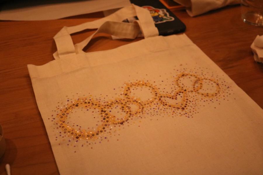 Dot art自由が丘のスターバックス奥沢2丁目店にて ONDtableのワークショップ