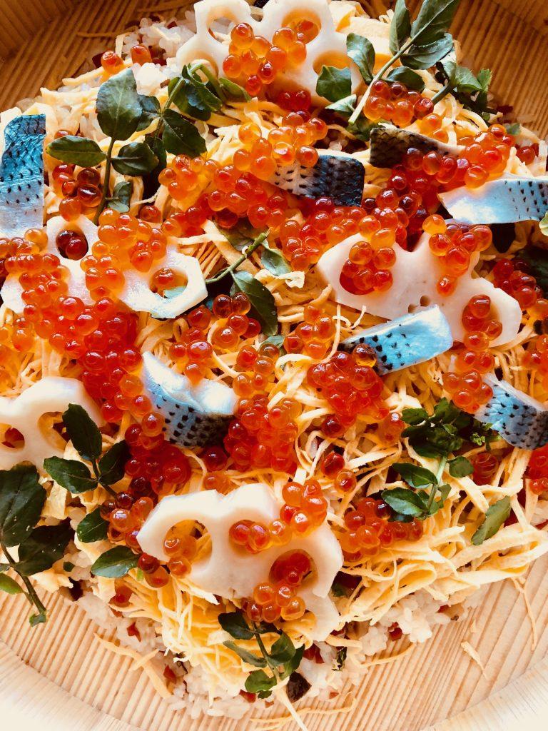 クチーナアキコのちらし寿司
